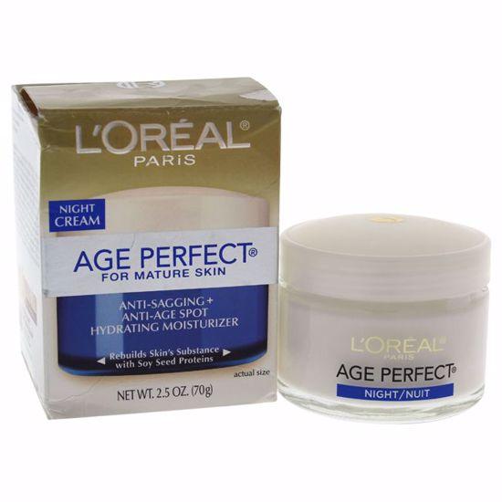L'Oreal Paris Anti-Sagging Anti-Age Spot Moisturizer Night Cream Unisex 2.5 oz - Top Skin Care Products   Best Anti Aging Skin Care Products  Body Care   All Natural Skin care   AromaCraze.com