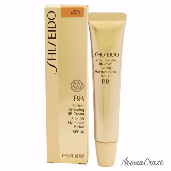Shiseido Perfect Hydrating BB Cream SPF 30 Dark Fonce Cream for Women 1.1 oz - Sun Protection Products | Sun Care Products | Best Sunscreen | Sun Cream Lotion | UV Protection | Body Care | All Natural Skin care | AromaCraze.com