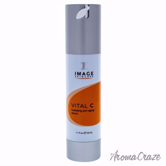 Vital C Hydrating Anti Age Serum by Image for Unisex - 1.7 oz Serum - Top Skin Care Products | Best Anti Aging Skin Care Products| Body Care | All Natural Skin care | AromaCraze.com