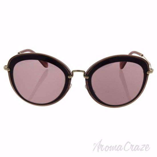Picture of Miu Miu MU 50R TKW-4M2 Bordeaux/Pink Gold for Women 54-26-140 mm Sunglasses