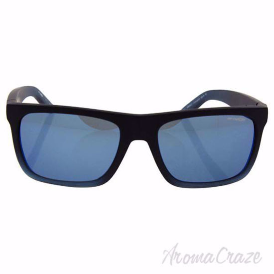 Picture of Arnette AN 4176 2254/55 Dropout - Fuzzy Black/Gummy Blueberry/Blue by Arnette for Men - 58-18-135 mm Sunglasses