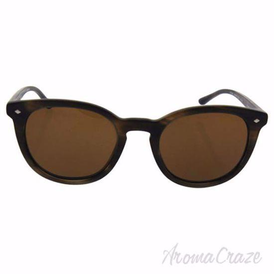 Picture of GA AR 8060 5405/57 Frames Of Life - Striped Matte Dark Brown/Brown Polarized by Giorgio Armani for Men - 50-21-145 mm Sunglasses