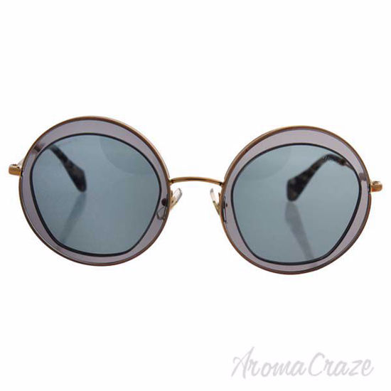 Picture of Miu Miu MU 50Q ROY-3C2 Transparent Grey for Women 52-27-140 mm Sunglasses