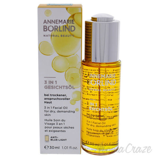 Picture of 3-In-1 Facial Oil by Annemarie Borlind for Unisex - 1.01 oz Oil