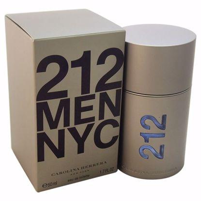 Carolina Herrera 212 EDT Spray for Men 1.7 oz