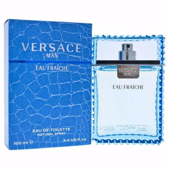 Versace Man Eau Fraiche EDT Spray for Men 3.4 oz