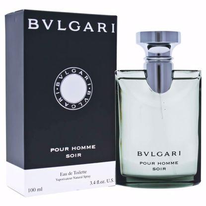 Bvlgari  Pour Homme Soir EDT Spray for Men 3.4 oz