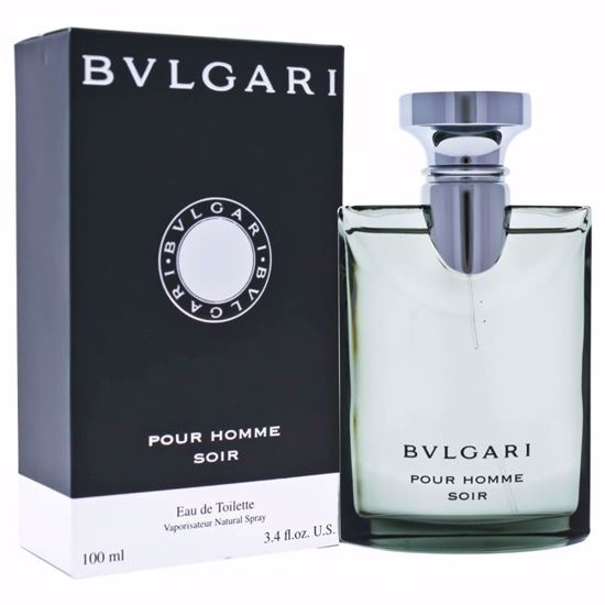Bvlgari  Pour Homme Soir EDT Spray for Men 3.4 oz