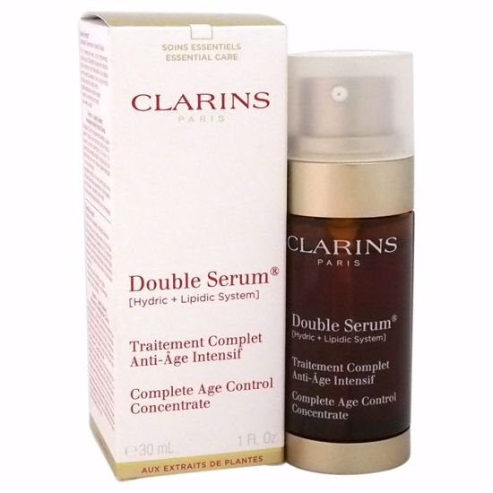 Clarins Double Serum Complete Age Control Concentrate for Unisex 1 oz - Face Care Products | Facial Care Products | All Natural Skin care | Best Anti Aging Skin Care Products | AromaCraze.com