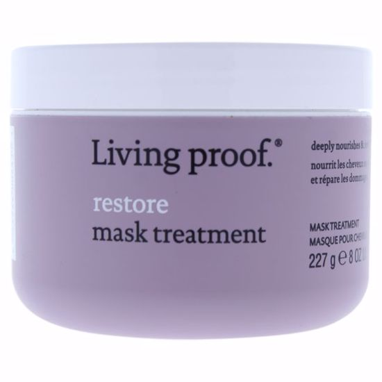Living Proof Restore Mask Treatment - Dry or Damaged Hair  for Unisex 8 oz - Hair Treatment Products | Best Hair Styling Product | Hair Oil Treatment | Damage Hair Treatment | Hair Care Products | Hair Spray | Hair Volumizing Product | AromaCraze.com