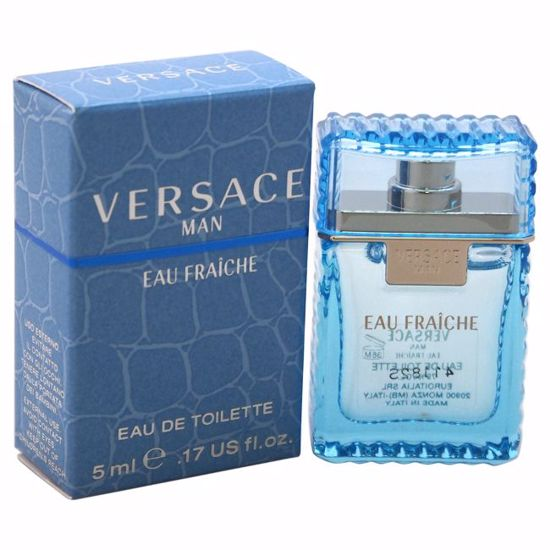 Versace  Man Eau Fraiche EDT Splash (Mini) for Men 5 ml