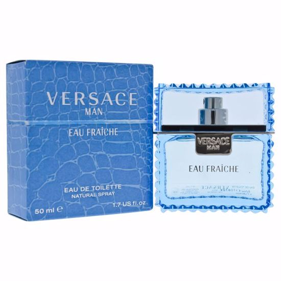 Versace  Man Eau Fraiche EDT Spray for Men 1.7 oz