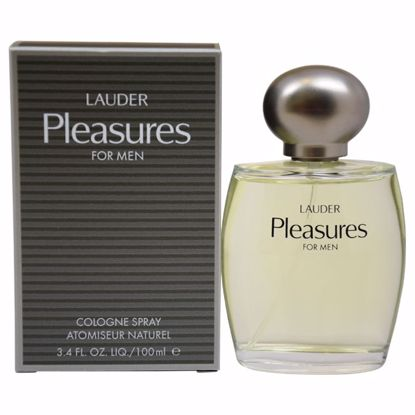 Estee Lauder Pleasures EDC Spray for Men 3.4 oz