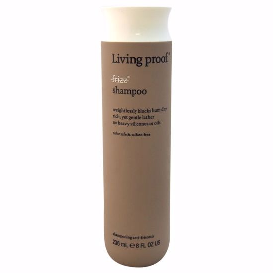 Living Proof  No Frizz Shampoo  for Unisex 8 oz - Hair Shampoo | Best Shampoo For Hair Growth | Shampoo and Conditioner For Damage Hair | Fizzy Hair Shampoo | Best Professional Shampoo | Top Brands Hair Care Products | AromaCraze.com