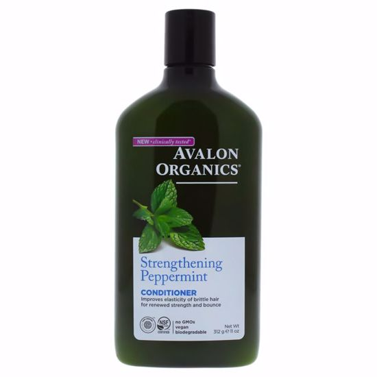 Avalon Organics Strengthening Peppermint Conditioner  for Un