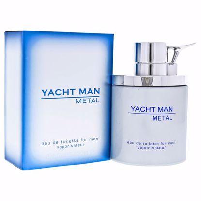 Myrurgia Yacht Man Metal EDT Spray for Men 3.4 oz