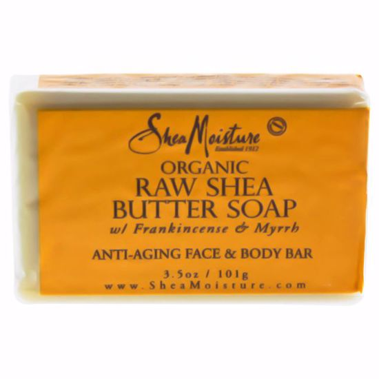 Shea Moisture Organic Raw Shea Butter Soap Anti-Aging Face &