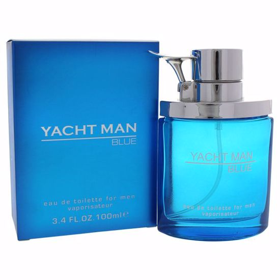 Myrurgia Yacht Man Blue EDT Spray for Men 3.4 oz
