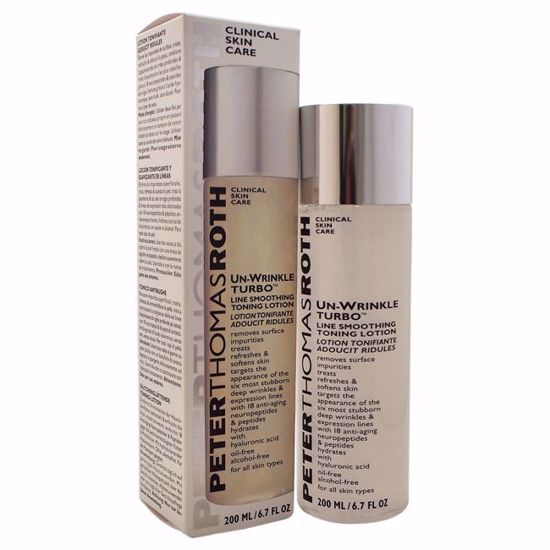 Peter Thomas Roth Un-Wrinkle Turbo Line Smoothing Toning Lotion  for Unisex 6.7 oz - Top Skin Care Products | Best Anti Aging Skin Care Products| Body Care | All Natural Skin care | AromaCraze.com