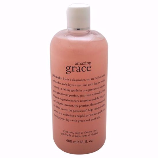 Philosophy Amazing Grace Perfumed Shampoo Bath & Shower Gel for Unisex 16 oz - Hair Styling Products | Hair Styling Cream | Hair Spray | Hair Styling Products For Men | Hair Styling Products For Women | Hair Care Products | AromaCraze.com