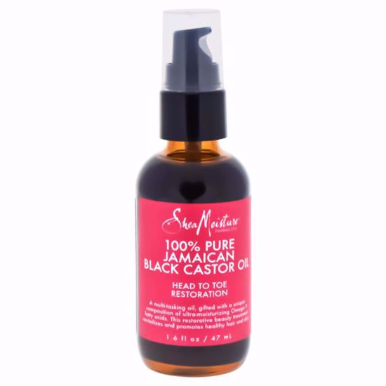 Shea Moisture 100% Pure Jamaican Black Castor Oil Head To Toe Restoration for Unisex 1.6 oz - Hair Treatment Products | Best Hair Styling Product | Hair Oil Treatment | Damage Hair Treatment | Hair Care Products | Hair Spray | Hair Volumizing Product | AromaCraze.com