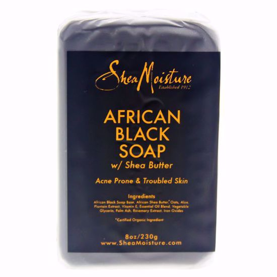 Shea Moisture African Black Soap Bar Acne Prone & Troubled S