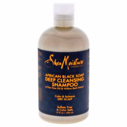 Shea Moisture African Black Soap Deep Cleansing Shampoo  for