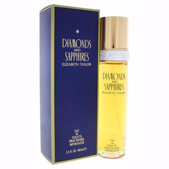 Elizabeth Taylor Diamonds and Sapphires Women EDT Spray 3.3