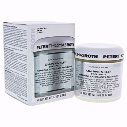 Peter Thomas Roth Un-Wrinkle Unisex Peel Pads 60 Pc