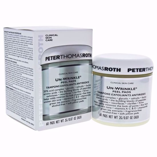 Peter Thomas Roth Un-Wrinkle Unisex Peel Pads 60 Pc