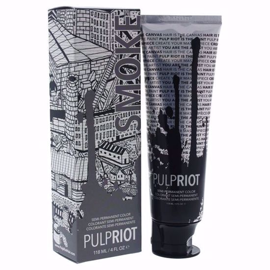 Pulp Riot Semi-Permanent Grey Hair Color for Unisex 4 oz