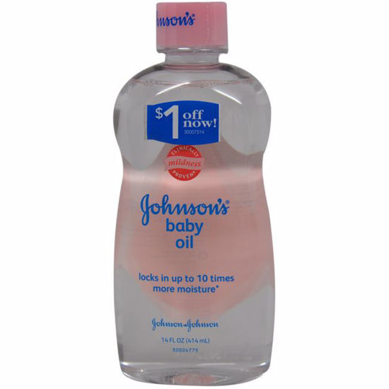 Johnson & Johnson Baby Oil Original for Kids 14 oz