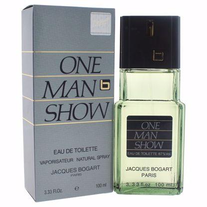 Jacques Bogart One Man Show Men EDT Spray 3.3 oz
