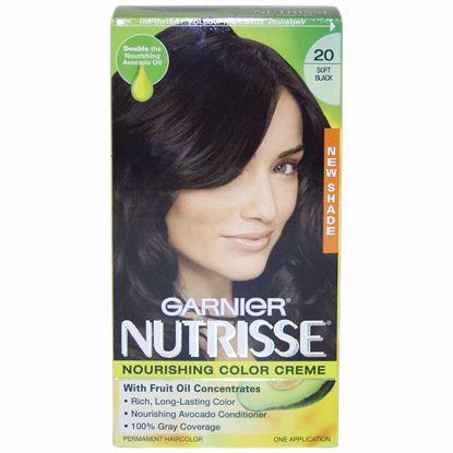 Garnier Nutrisse Nourishing Black Hair Color for Unisex 1 Ap