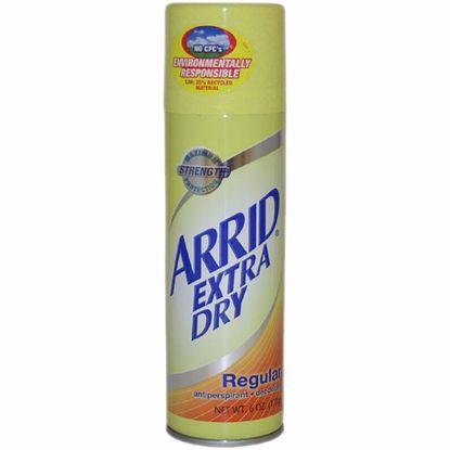 Arrid Extra Dry Regular Unisex Deodorant Spray 6 oz