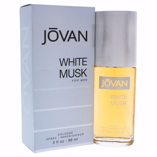 Jovan White Musk by Jovan Men EDC Spray 3 oz