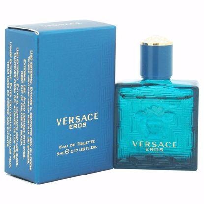 Versace Eros Men EDT Splash Mini for Men 0.17 oz