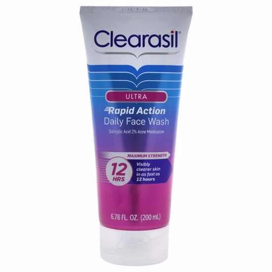 Clearasil Ultra Daily Face Wash  for Unisex 6.78 oz