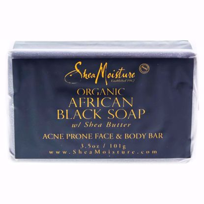 Shea Moisture  African Black Acne Prone Face Body Soap for U