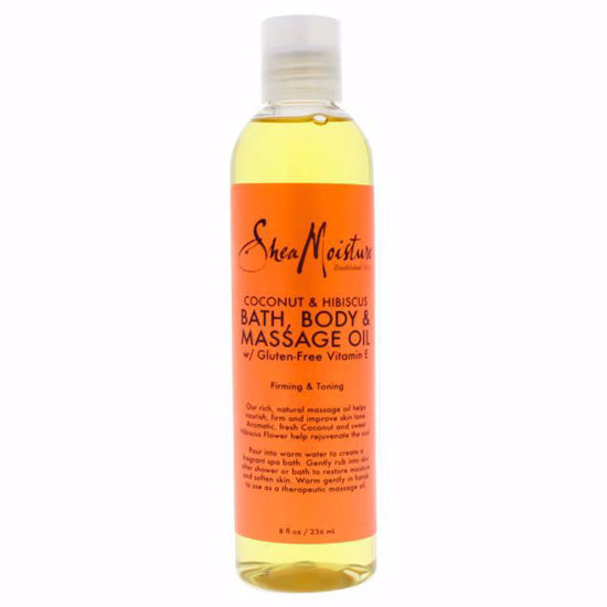 Shea Moisture Coconut  Hibiscus Bath-Body Massage Firming To