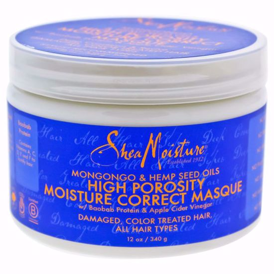 Shea Moisture Mongongo Hemp Seed Oils High Porosity Moisture