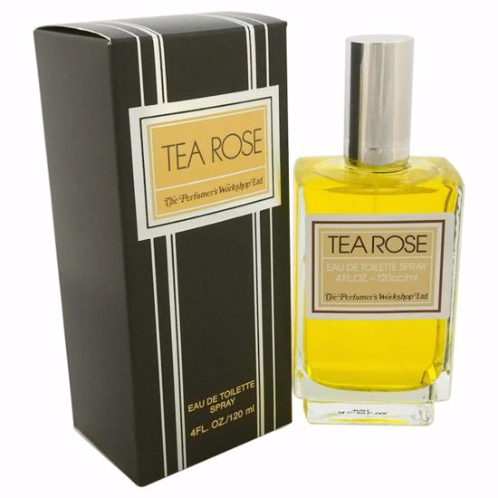 Perfumer's Workshop Tea Rose Women EDT Spray 4 oz