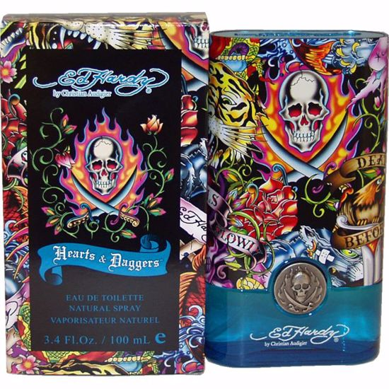 Christian Audigier Hearts Daggers Men EDT Spray 3.4 oz