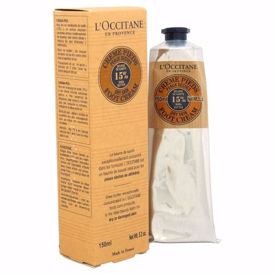 L'occitane Shea Butter Unisex Foot Cream Dry Skin 5.2 oz