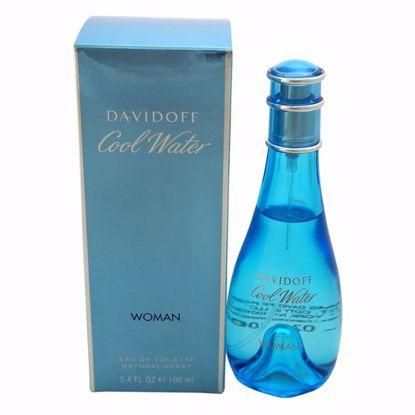Zino Davidoff Cool Water Women EDT Spray  3.4 oz