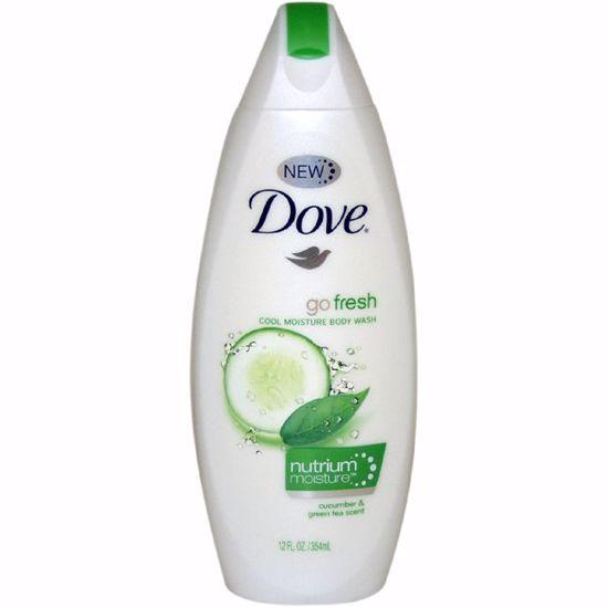 Dove Fresh Moisture Body Wash Cucumber Green Tea Unisex 12 o