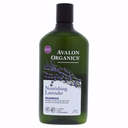 Avalon Organics Nourishing  Lavender Shampoo Unisex 11 oz