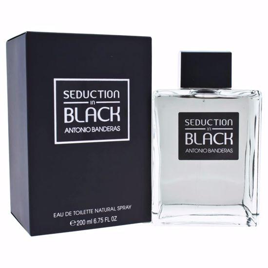 Antonio Banderas Seduction In Black Men EDT Spray 6.75 oz