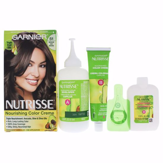 Garnier Nutrisse Nourishing Brown Hair Color Unisex