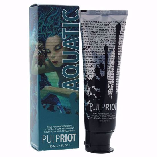 Pulp Riot Semi-Permanent  Aqua Hair Color Unisex 4 oz